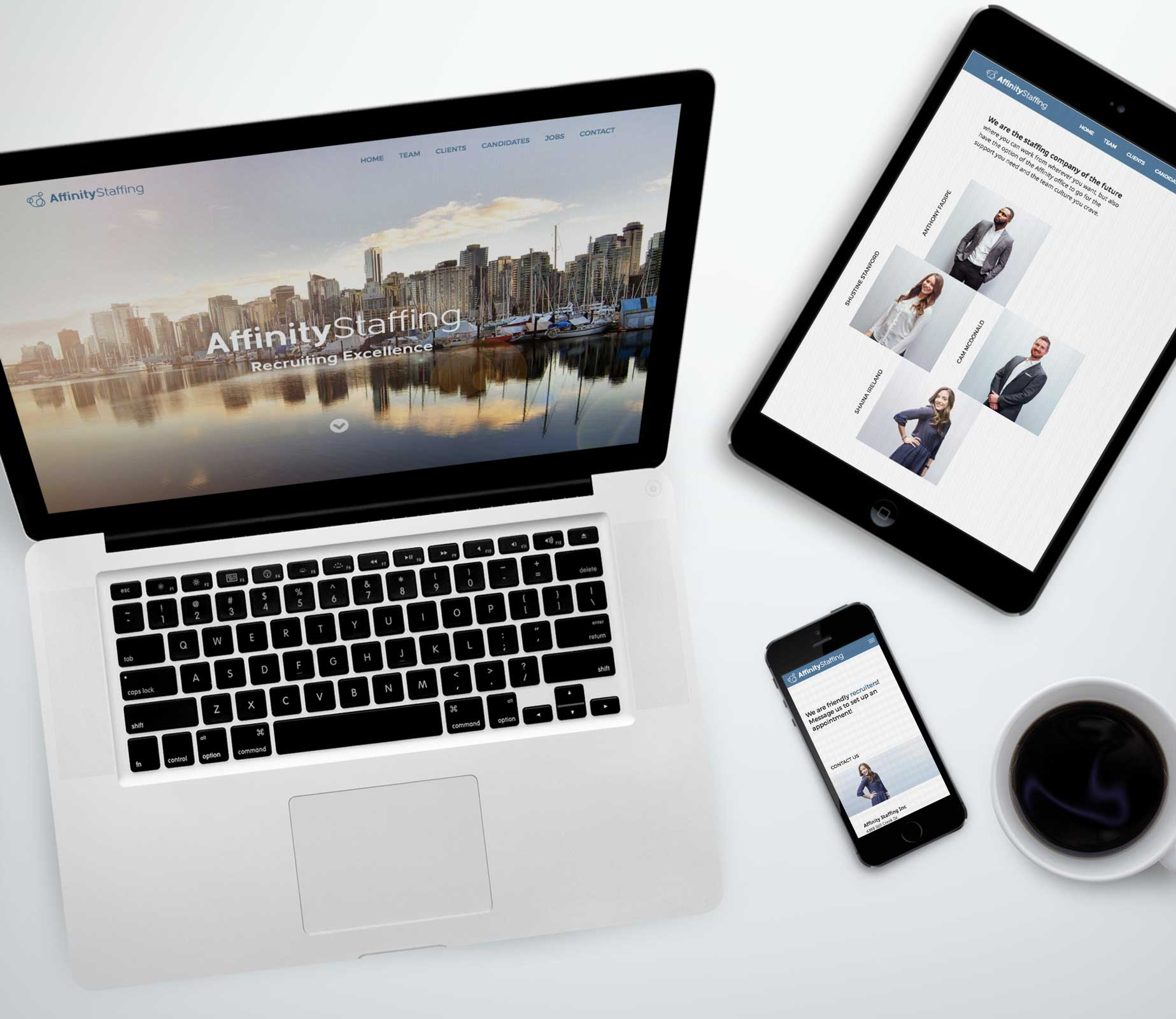 Vancouver Reponsive Web Design